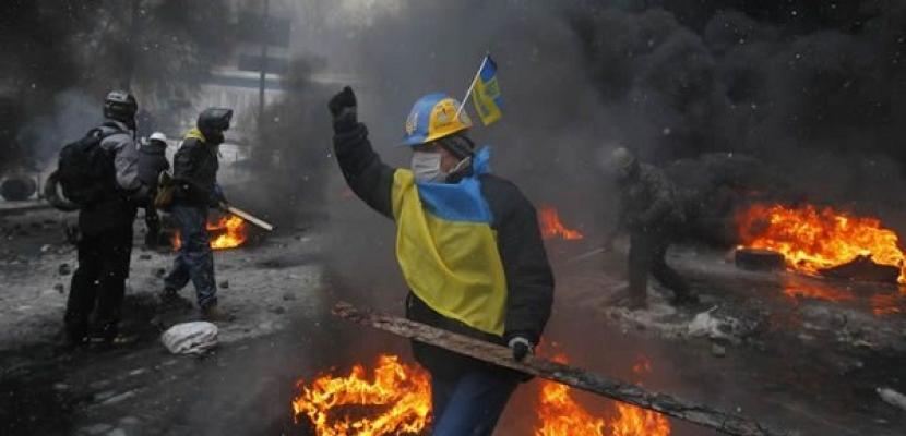 السلطات الأوكرانية تؤكد مقتل 94 فى أحداث الثورة والاضطرابات الأخيرة