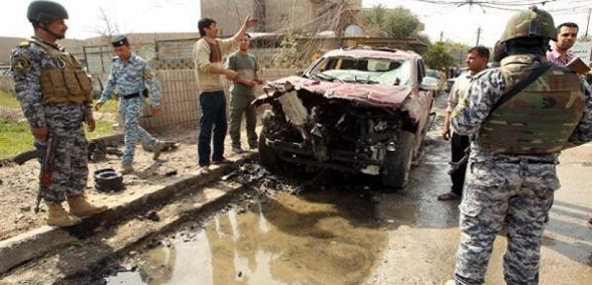 12 قتيلا و30 مصابا في انفجار سيارة ملغومة في حي شيعي ببغداد
