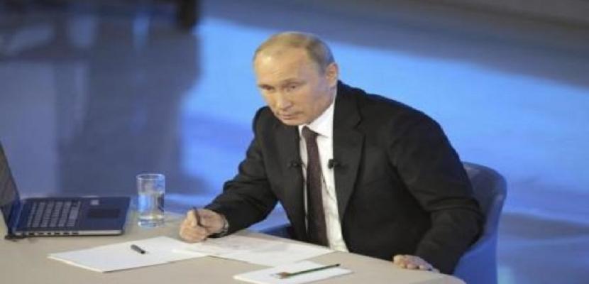 بوتين يصل أستانا لتوقيع معاهدة اتحاد أوراسيا الاقتصادي