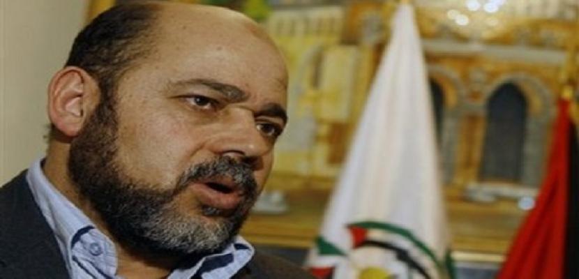 أبومرزوق: مصر أبلغتنا اعتذار إسرائيل عن عدم استئناف المفاوضات في القاهرة
