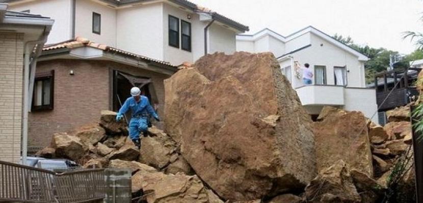 اليابان تحذر من فيضانات وانهيارات أرضية جراء أمطار غزيرة في أوكيناوا