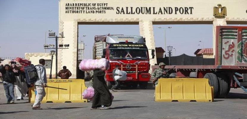 حمودة: دخول شاحنات الخضروات المصرية ليبيا بعد توقفها أسبوعين