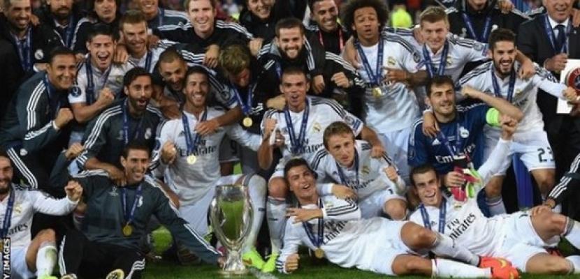 ريال مدريد يفوز بالسوبر الأوروبي بهدفين لرونالدو