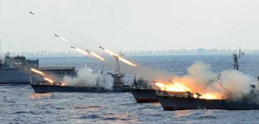 """بدء فعاليات المناورة البحرية """"ذات الصوارى"""" بالذخيرة الحية الخميس"""
