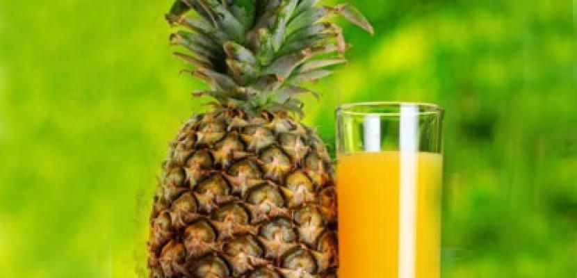 عصير الأناناس .. يدعم المناعة ويحارب السرطان