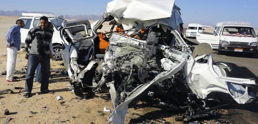 مصرع 18 شخصًا في حادث تصادم على الطريق الدائري الإقليمي بالصف