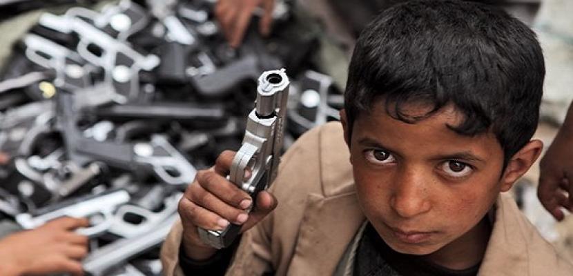 أطفال عدن .. ضحايا اعتدءات الحوثيين