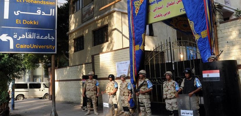 الداخلية : انتظام الخدمات الأمنية فى جميع اللجان الانتخابية