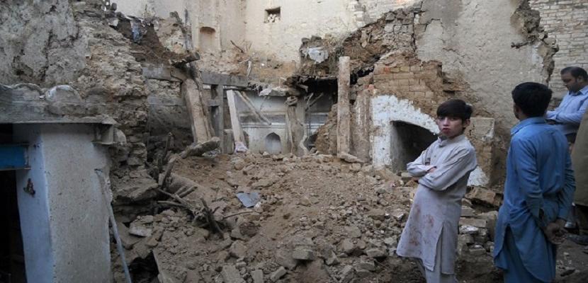 زلزال أفغانستان