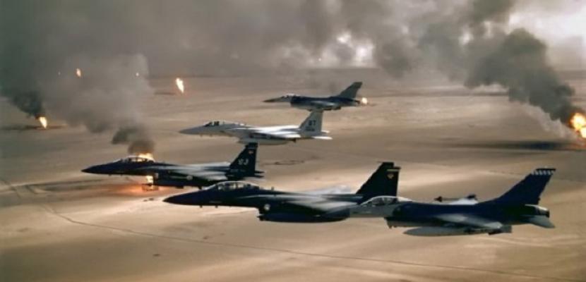 """التحالف الدولي ينفذ ضربتين جويتين ضد """"داعش"""" شمالي العراق"""