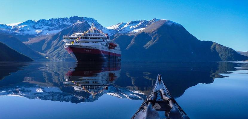 شاهد .. الطبيعة الساحرة في النرويج