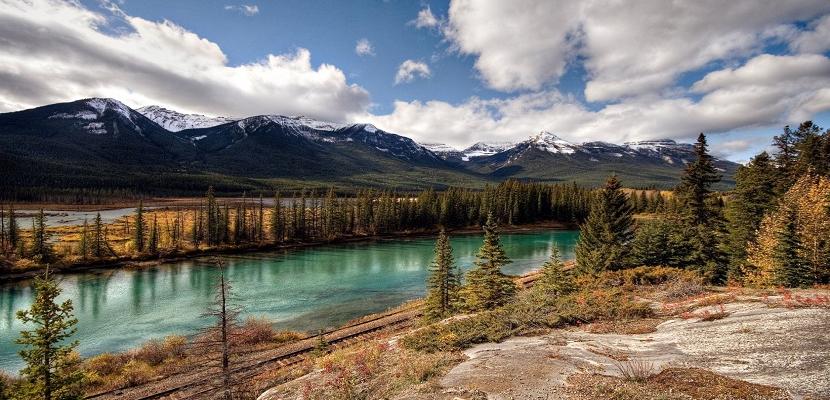جمال الطبيعة فى كندا الساحرة