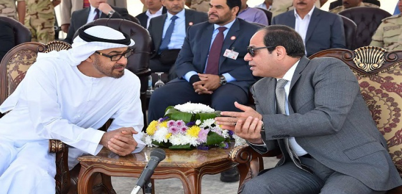 الرئيس السيسي يجري اتصالا هاتفيا بولي عهد أبوظبي لتهنئته بالعيد الوطني للإمارات