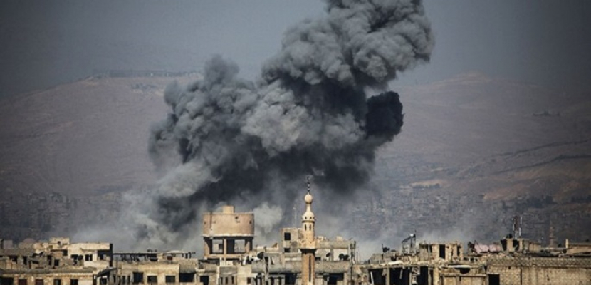 مقتل 11 مدنيًا فى قصف لجبهة النصرة بسوريا