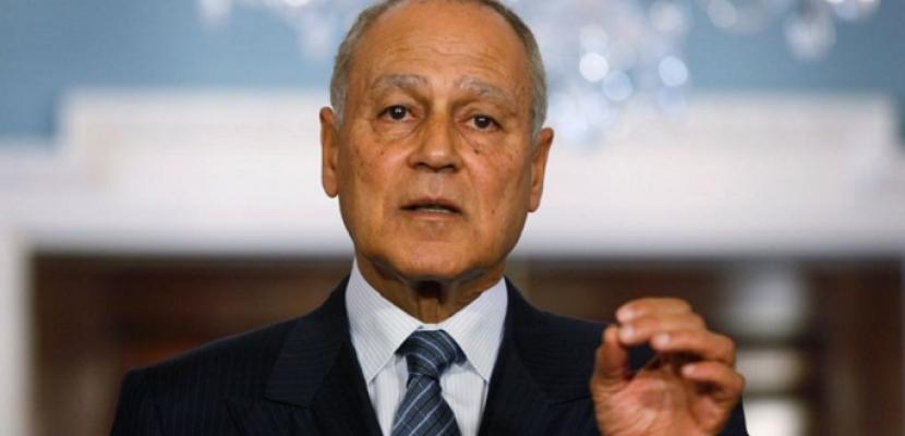 أبو الغيط يدعو اللبنانيين لضبط النفس ويحذر من الفتنة وانزلاق الأوضاع لمنحى خطير