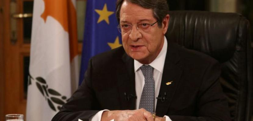 """قبرص تدعو الاتحاد الأوروبي لأن يكون """"حاسما وصارما"""" بشأن الاستفزازات التركية"""