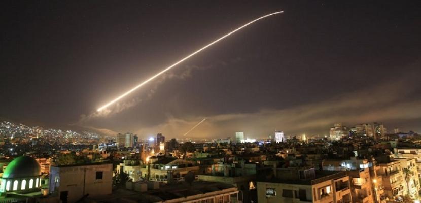 الدفاعات الجوية السورية تتصدى لهجوم إسرائيلي بالصواريخ جنوب سوريا