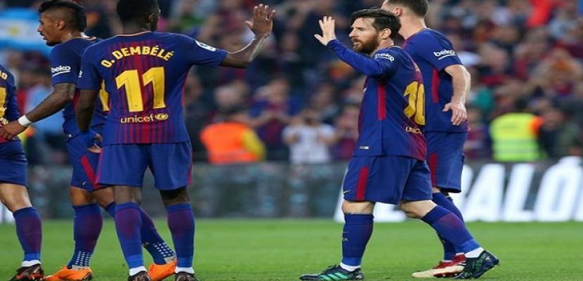 برشلونة يسعى لمصالحة جماهيره أمام خيتافى اليوم