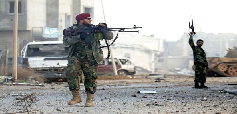 الجيش الليبي يقتل 18 مسلحا ويستهدف طائرة تركية مسيرة جنوب طرابلس