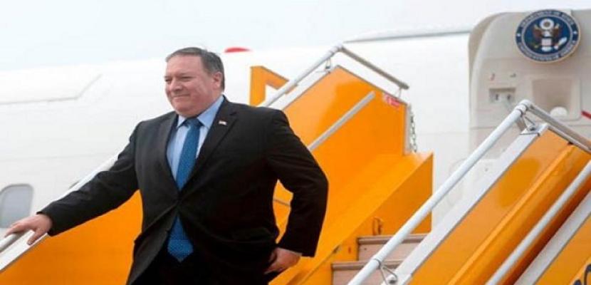 بومبيو يجري محادثات بشأن إيران في بروكسل في طريقه إلى روسيا