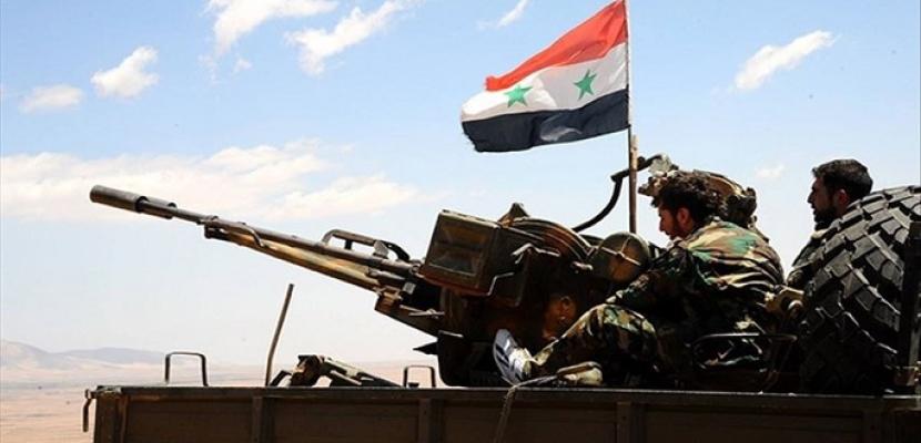 الجيش السوري يسقط طائرة مسيرة للإرهابيين بريف حماة الشمالي