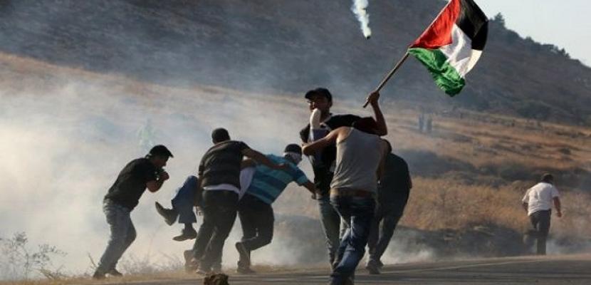 إصابة فلسطينيين برصاص مستوطنين بمنطقة خلة حسان