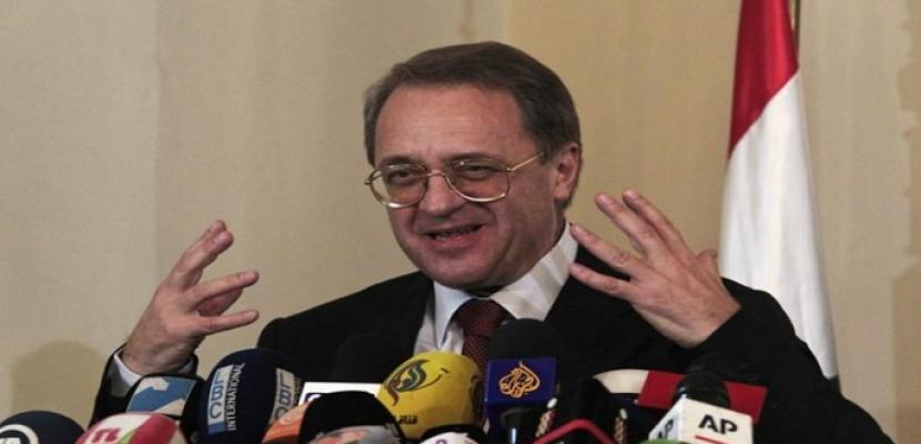 موسكو تعلن استعدادها تنظيم محادثات مباشرة بين الرئيس الفلسطيني ورئيس الوزراء الإسرائيلي