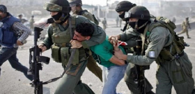قوات الاحتلال الإسرائيلية تعتقل 6 فلسطينيين بالضفة الغربية