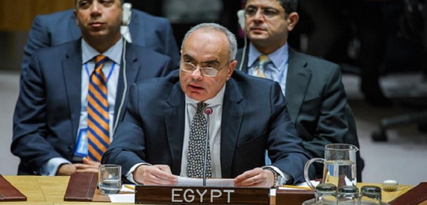 مصر تشارك في اجتماع مجلس الأمن لمناقشة سبل إصلاح عمليات حفظ السلام