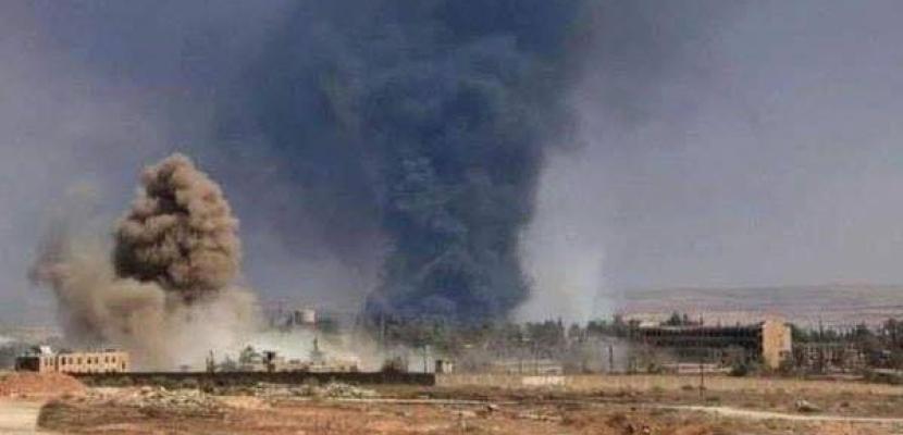 القوات التركية والفصائل الموالية لها تقصف قرية علوك بالحسكة شمال شرق سوريا