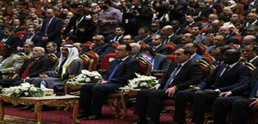 رئيس الوزراء يفتتح فعاليات مؤتمر ومعرض مصر الدولي للبترول (إيجبس 2019)