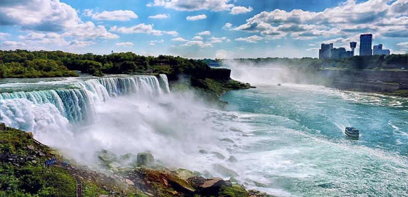 أجمل شلالات العالم .. شلالات نياجرا في كندا