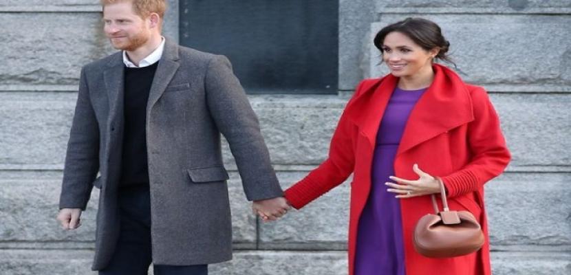 """ميجان ماركل زوجة الأمير هاري تضع مولودها الثاني """"ليليبيت"""""""