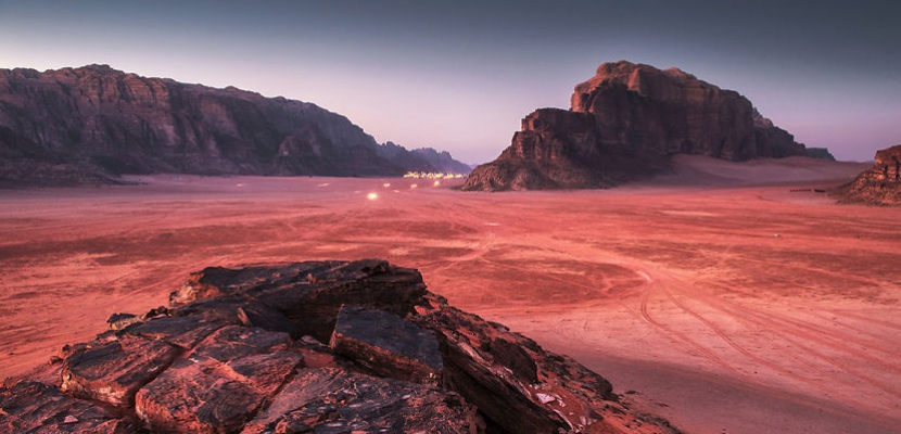 للصحراء .. سحر خاص