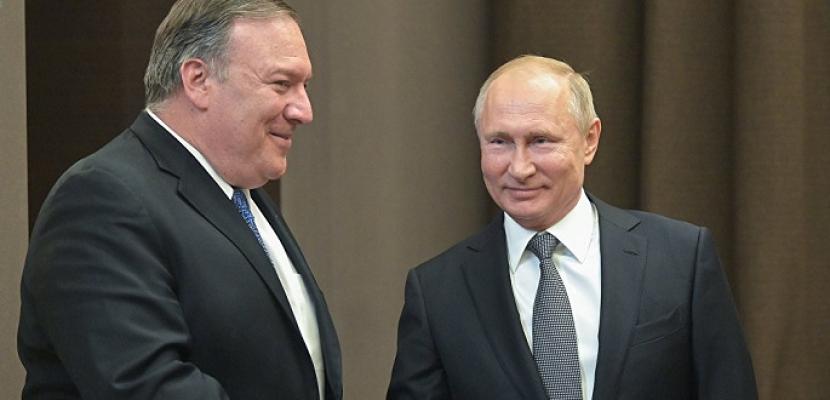وزير الخارجية الأمريكي : بوتين يدرك جيداً مشاكل العلاقات الروسية الأمريكية