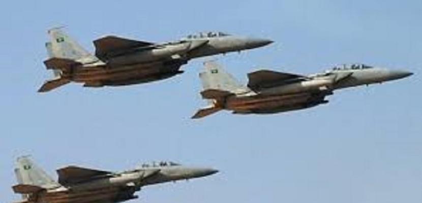 مقاتلات التحالف تقصف مواقع الحوثي في صنعاء