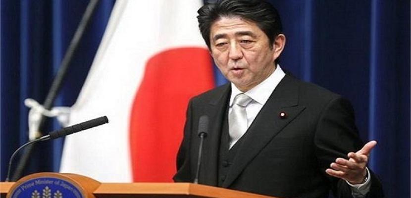 شينزو آبى يجرى تعديلاً وزارياً موسعاً يضم 13 وزيراً جديداً