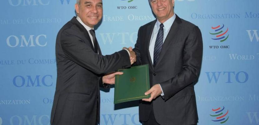 مصر تُودع وثيقة التصديق على اتفاقية تيسير التجارة لدى منظمة التجارة العالمية