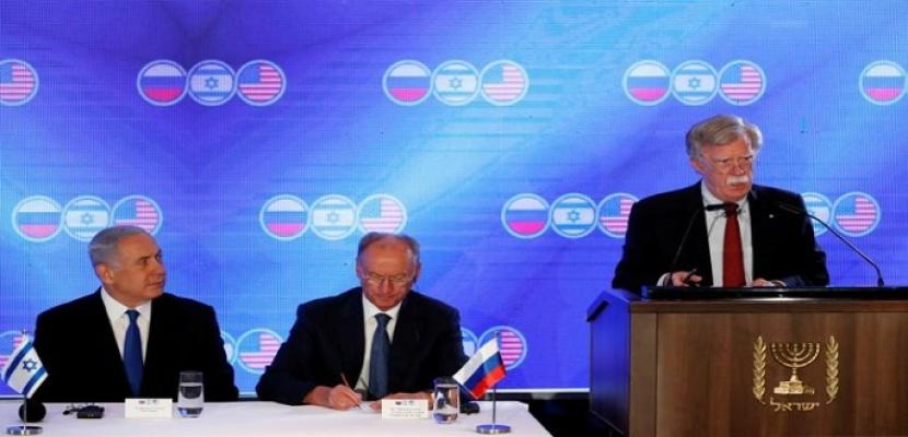 بولتون: الضغوط على إيران قد تدفعها للجلوس إلى مائدة التفاوض