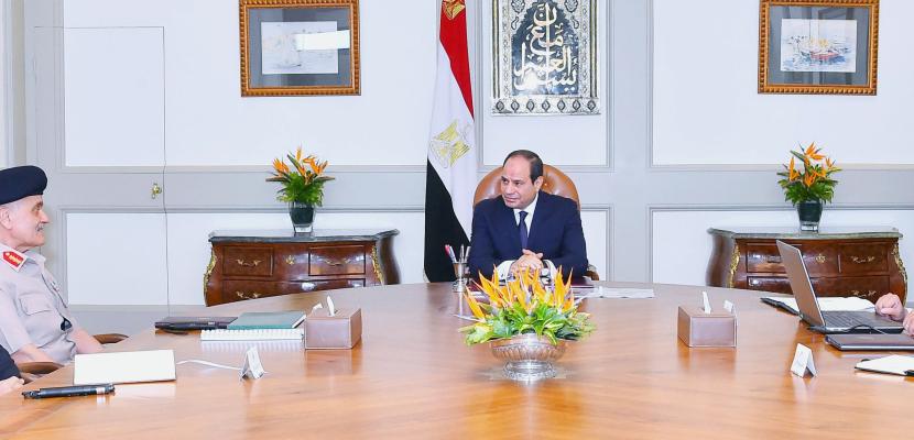 الرئيس السيسي يوجه بمواصلة العمل الجاري لتفعيل آليات عمل صندوق تكريم الشهداء والمصابين