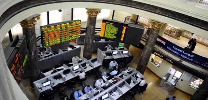 البورصة تربح 4.8 مليار جنيه عند الإغلاق وارتفاع جماعي لمؤشراتها