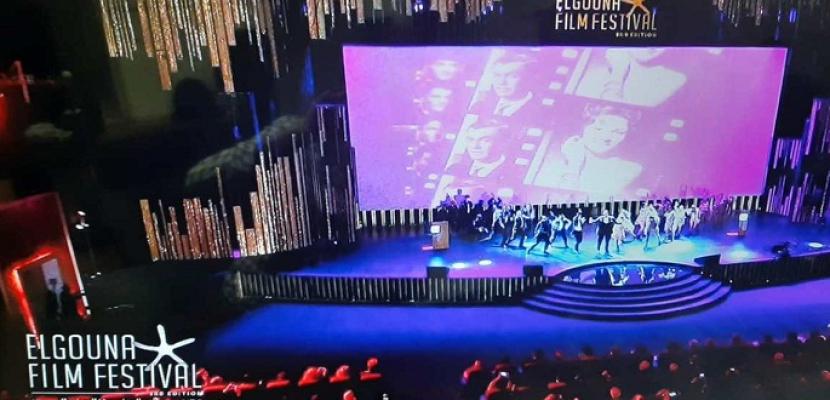 انطلاق حفل مهرجان الجونة السينمائي