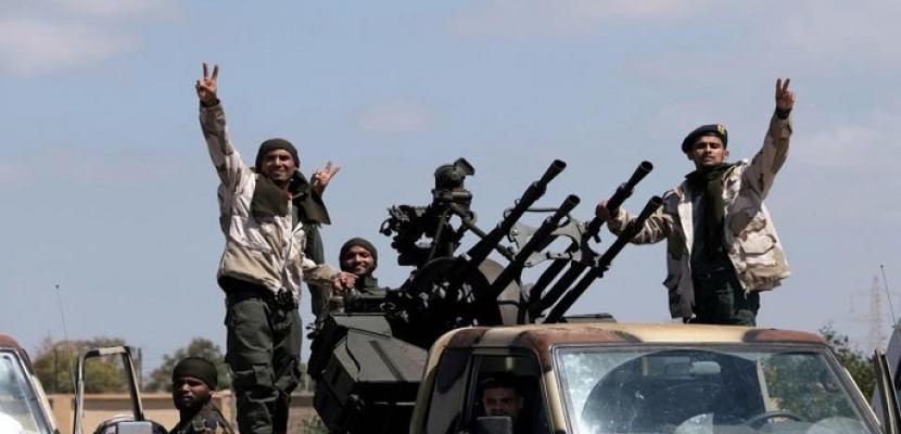 الجيش الليبى يتأهب لعملية عسكرية ضد ميليشيا مصراتة