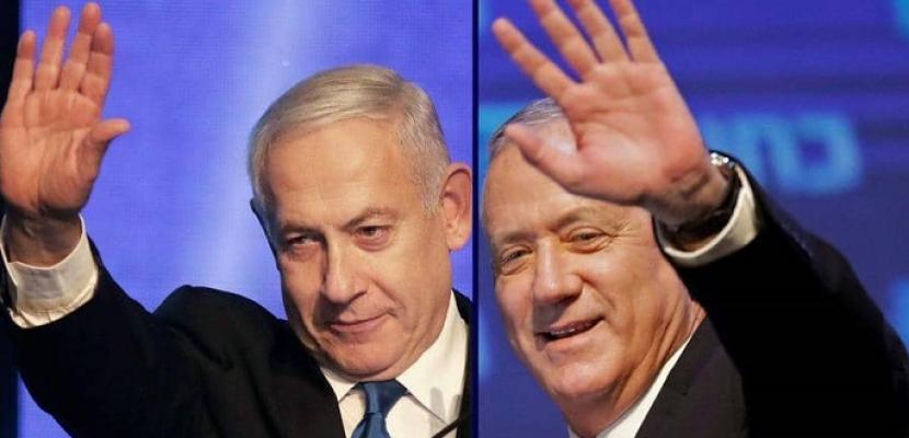خلاف بين نتنياهو وجانتس بشأن تحركات الضم في الضفة الغربية