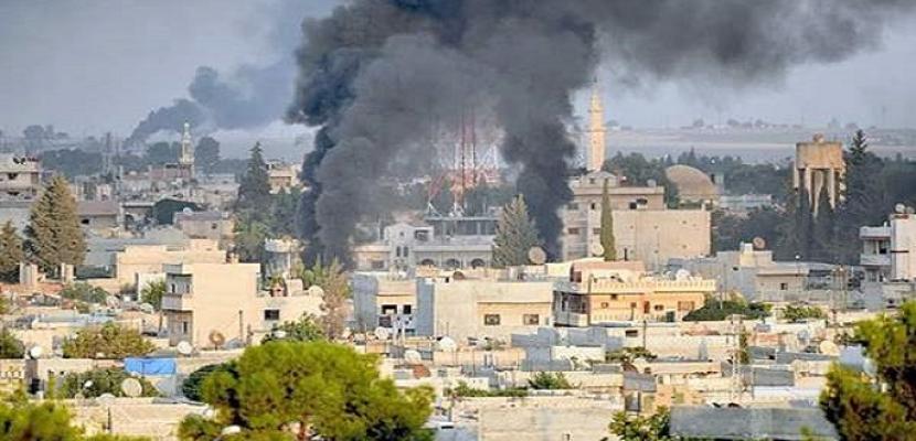 """غارات للطيران السوري على مواقع استراتيجية لـ""""القاعدة"""" في إدلب وسط قصف تركي لشمال شرق سوريا"""