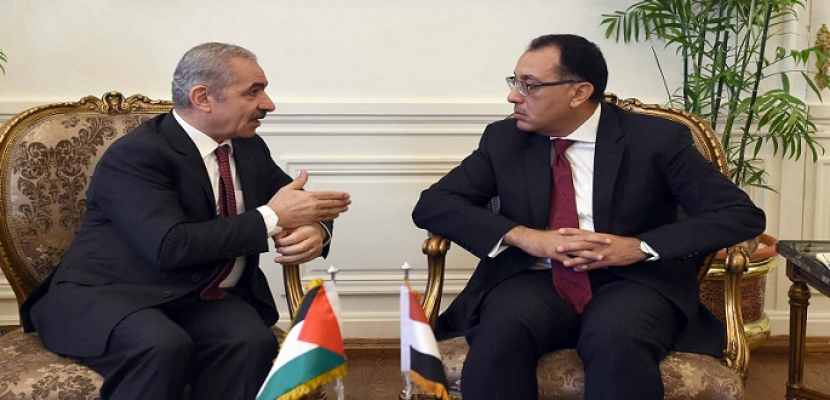 مدبولي يُؤكد علي عمق العلاقات المصرية الفلسطينية ومساندة مصر الكاملة للشعب الفلسطيني