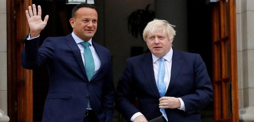 بوريس جونسون يلتقي رئيس حكومة إيرلندا لكسر الجمود بشأن بريكست
