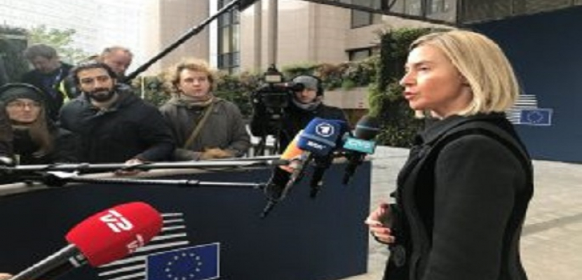 الاتحاد الأوروبي يدين العدوان العسكري التركي شمال سوريا