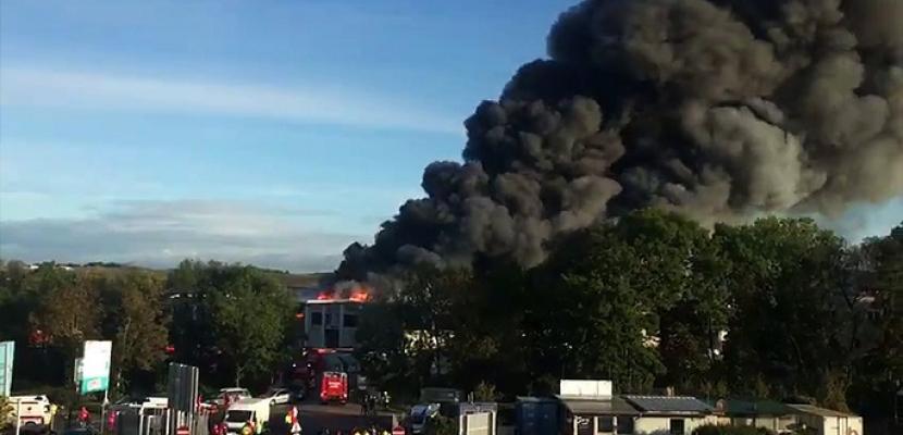 انفجار قرب مطار في النمسا وسقوط  عدد من المصابين