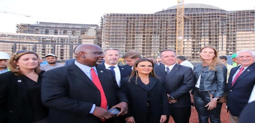 خلال زيارته للعاصمة الإدارية .. وفد الكونجرس : حريصون على ضخ المزيد من الاستثمارات لمصر
